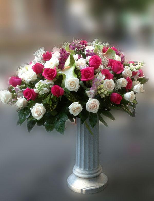 cu15-cuscino bianco e rosa